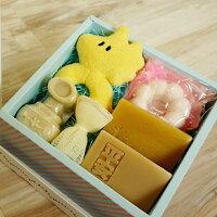 彌月禮盒推薦【一草一木】初生彌月手工皂禮盒 B款  (天然.環保.無毒)