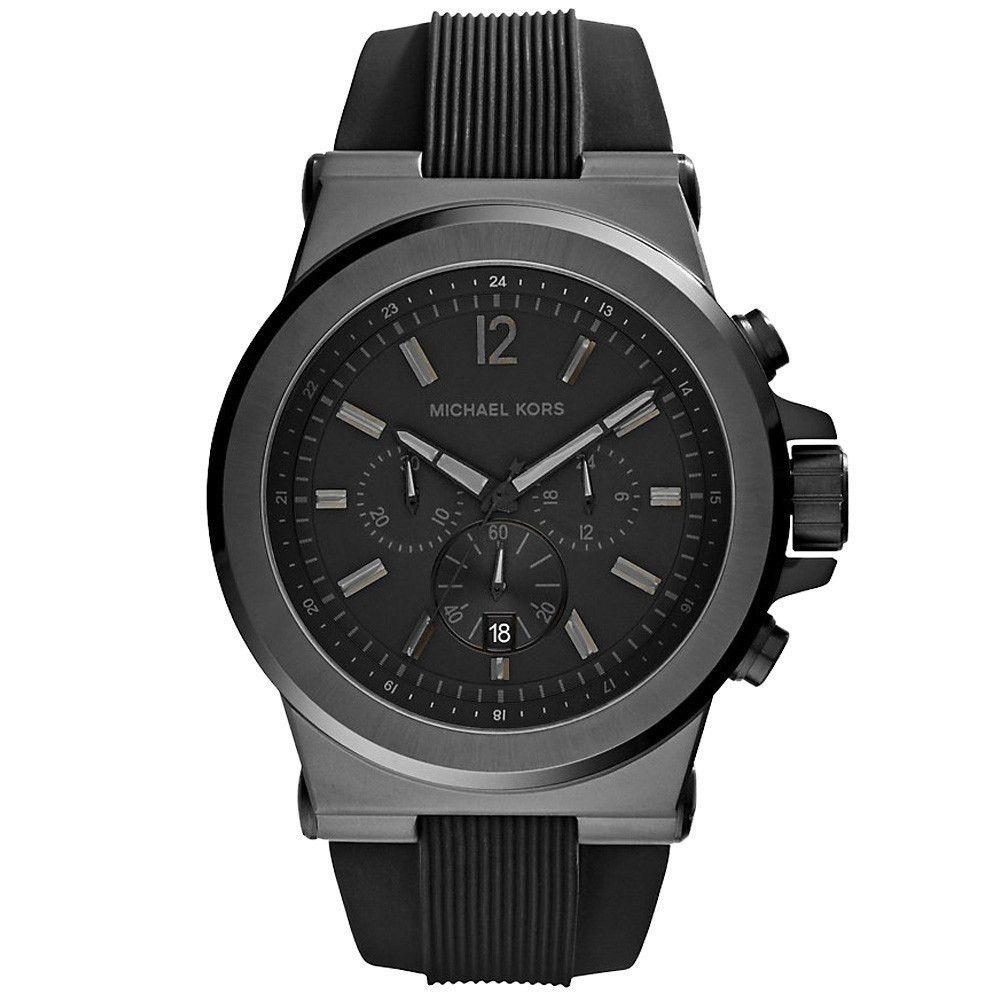【MICHAEL KORS】正品 (男錶) Dylan系列競速方程式計時腕錶-黑 0