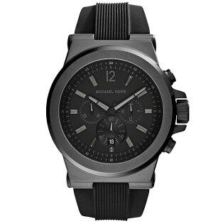【MICHAEL KORS】正品 (男錶) Dylan系列競速方程式計時腕錶-黑