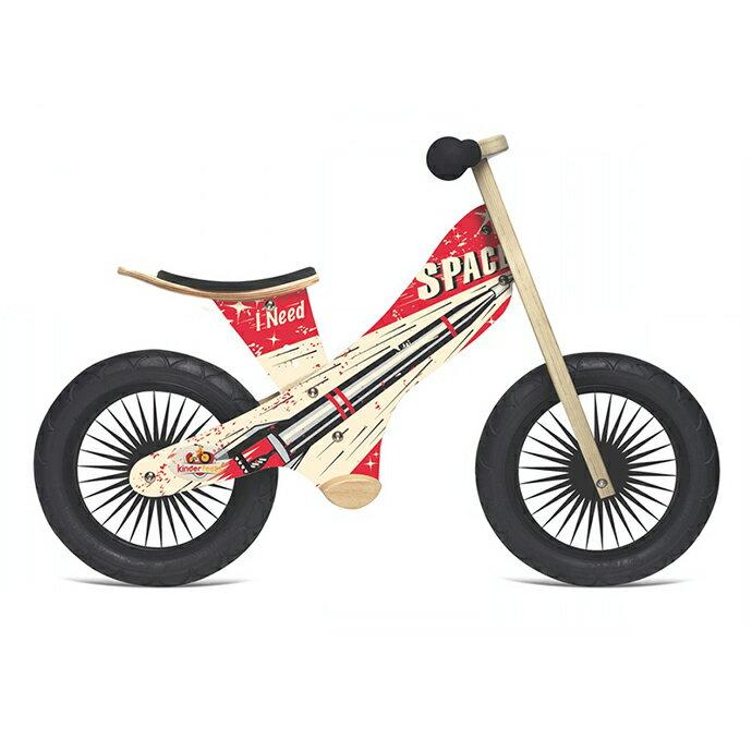 美國【Kinderfeets】木製平衡滑步車/教具車-英雄聯盟系列(星際戰警) 0