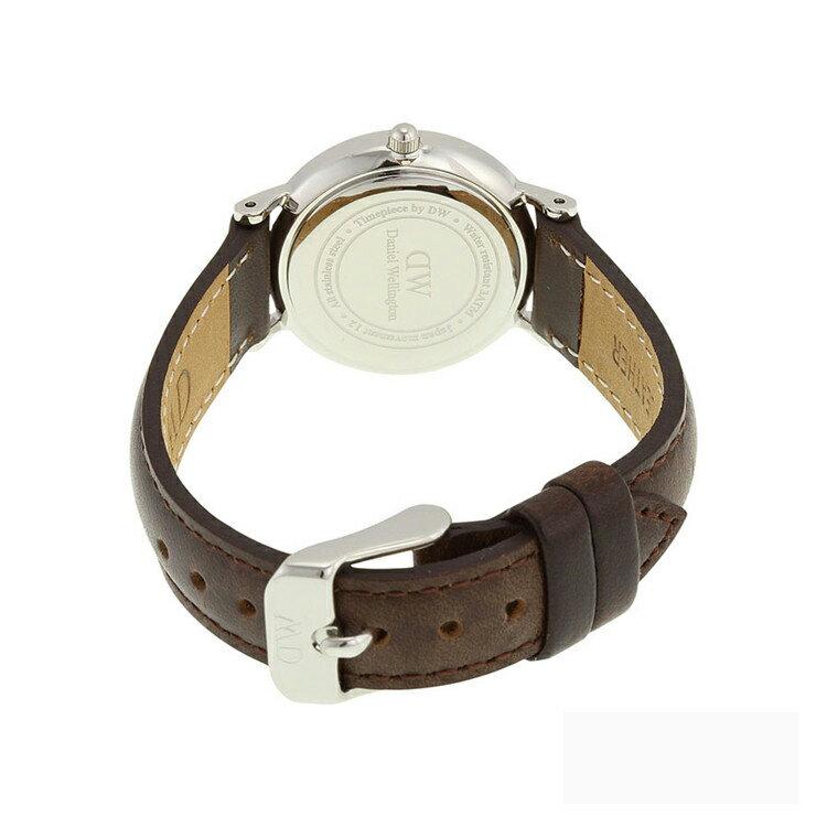瑞典正品代購 Daniel Wellington 0923DW 銀 玫瑰金  真皮 錶帶 男女錶 手錶腕錶 26MM 4