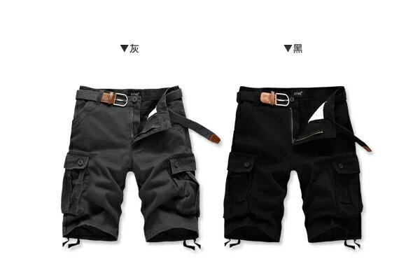 ☆BOY-2☆【NZ91001】大尺碼工作褲美式潮流口袋休閒褲 2