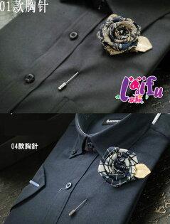 ★草魚妹★k568男胸針配飾領針西裝胸花,售價200元