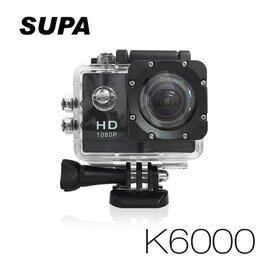 弘瀚--速霸 K6000 Full HD 1080P 極限運動防水型 行車記錄器(送16G TF卡)
