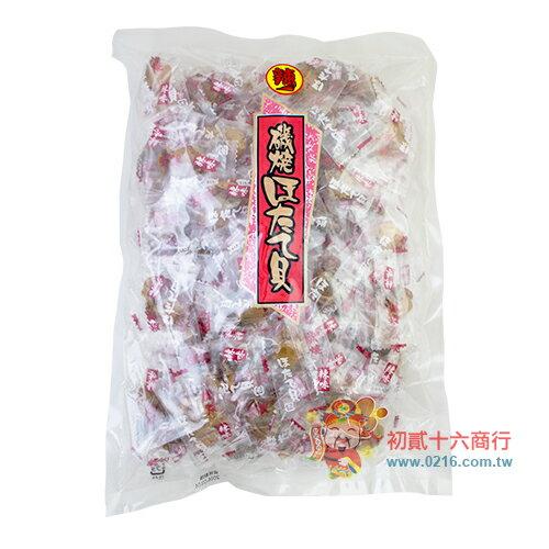 【0216零食會社】日本磯燒干貝糖(辣味)500g