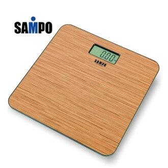 SAMPO 聲寶 木紋造型電子體重計 BF-L1502ML