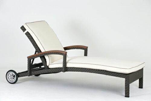 ALPINE 艾爾帕 躺椅 戶外家具【7OCEANS七海休閒傢俱】TIGER 咖啡混色 1