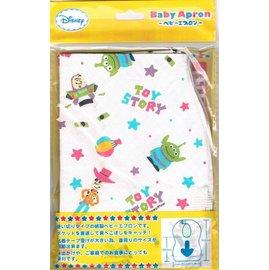攜帶型拋棄式圍兜-Baby Joy World-日本Disney迪士尼-玩具總動員--拋棄式圍兜10入裝 -外出用餐好幫手