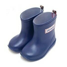 【本月贈鞋墊】日本【Stample】兒童雨鞋(深海藍) 0