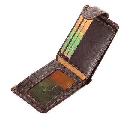 Golunski Texan Gents Leather Wallet (brown) 0