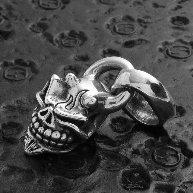 【現貨商品】【STARLINGEAR】日本鬼面般若骷髏墜飾 (STP004Devil  0123610000) 6