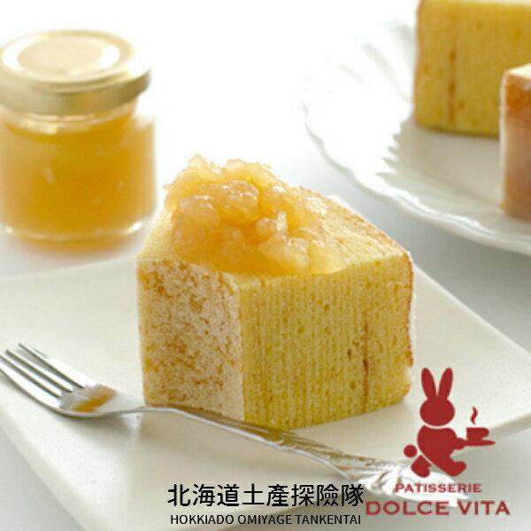 「日本直送美食」[DOLCE VITA] 咖啡兔之樹年輪蛋糕果醬組 ~ 北海道土產探險隊~