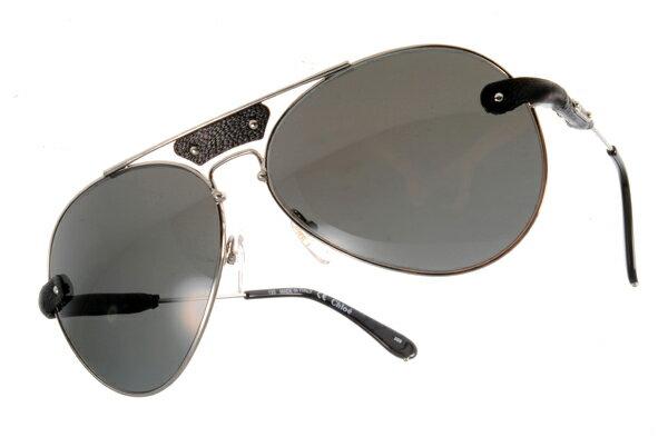 [Anson King]法國100%正品代購 CHLOE 克羅伊 好萊塢 時尚飛行復古皮革 CL2104系列 銀黑色 2
