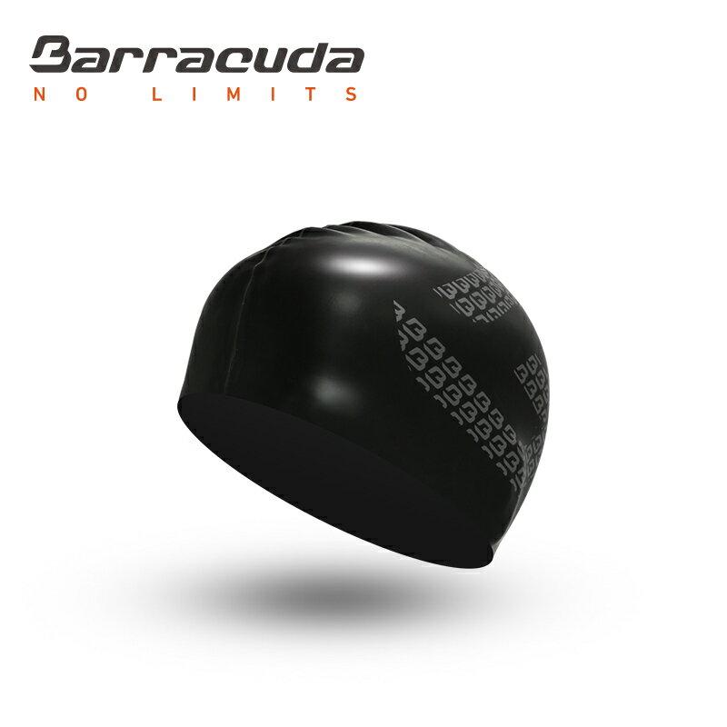 美國巴洛酷達Barracuda成人矽膠泳帽-黑色 - 限時優惠好康折扣