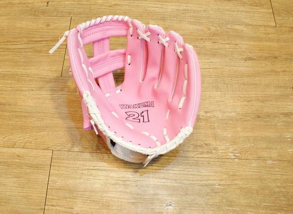 棒球世界 全新日本職棒 NPB 東京養樂多燕子隊國小用手套 特價 11吋 粉紅色