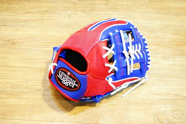 棒球世界 Louisvill Slugger 路易斯威爾TPX LS AIR布織布 內野工字棒壘球手套 特價中華隊配色
