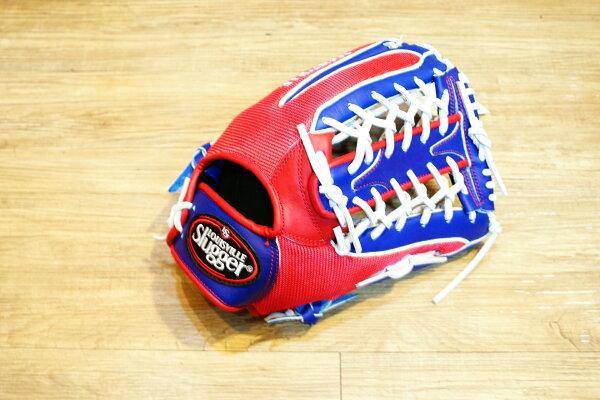 棒球世界 Louisvill Slugger 路易斯威爾TPX AIR布織布 外野T網棒壘球手套 特價中華隊配色