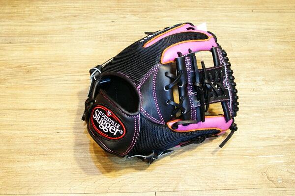 棒球世界 Louisvill Slugger 路易斯威爾TPX LS AIR布織布 內野工字棒壘球手套 特價 炫粉配色