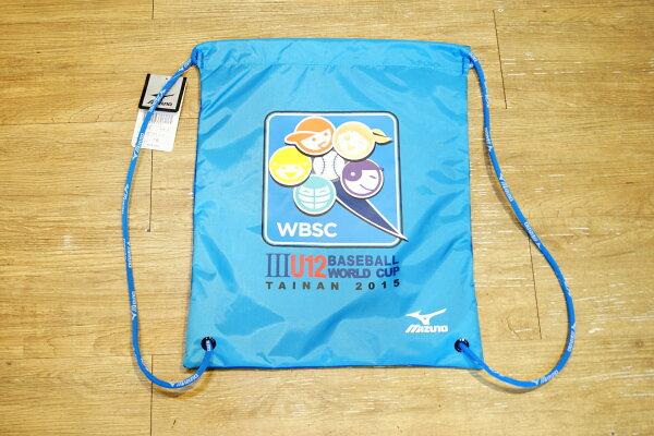 棒球世界MIZUNO美津濃WBSC中華隊CT應援束口袋 限量販售