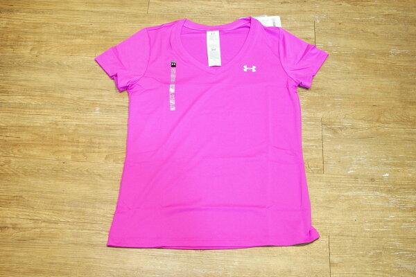 棒球世界全新UNDER ARMOUR 女子UA Tech™ V領運動上衣
