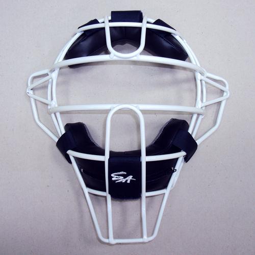 棒球世界 新款SA硬式捕手輕量化配色面罩 特價/