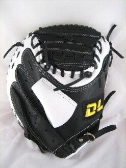 〈棒球世界〉全新DL 捕手手套/店家訂製款 /黑白配