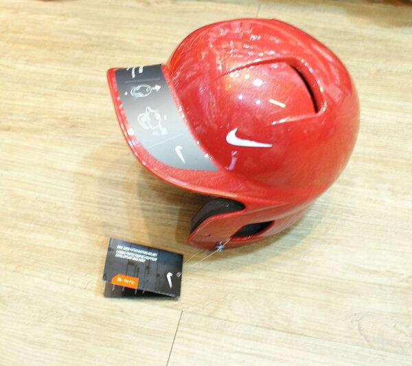 棒球世界 NIKE 最新款 進口 打擊頭盔 (紅色) 新上市 特價