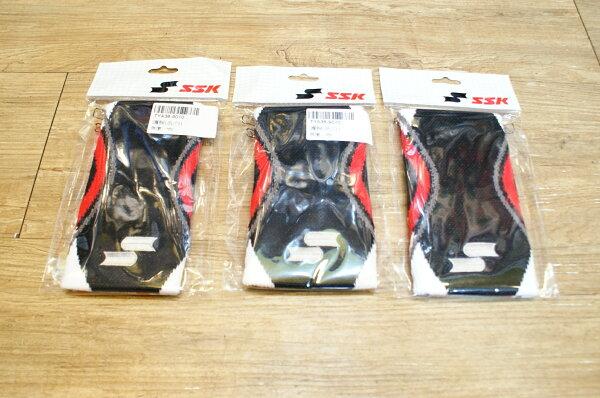 棒球世界全新SSK日系配色護腕 特價 黑底