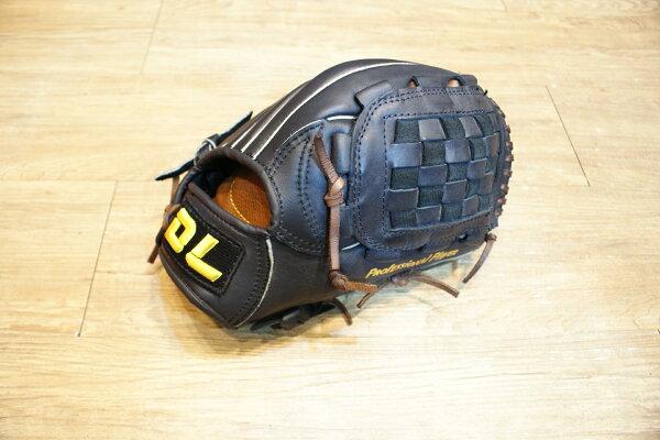 棒球世界 牛皮製 DL SHOW系列 投手用 棒壘球手套 特價/加送手套袋/