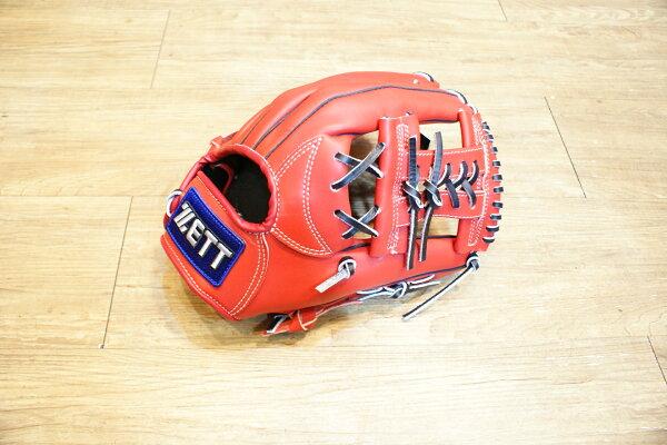 棒球世界全新14年ZETT5800系列棒壘球手套 特價內野工字