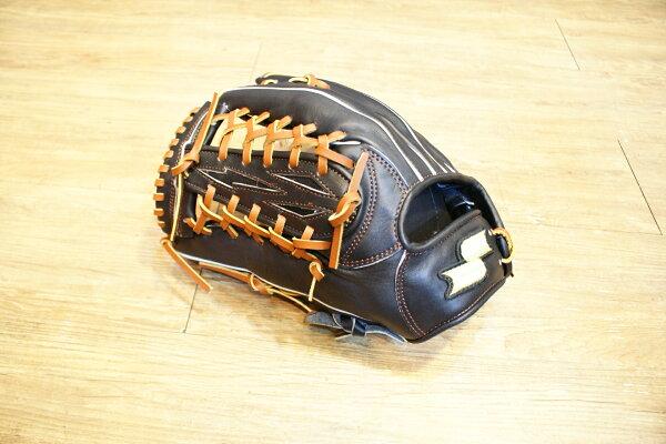 棒球世界14年新款SSK全指牛皮手套 特價 外野反手款式