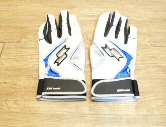 棒球世界 全新SSK 韓國進口小羊皮打擊手套 特價 限量販售