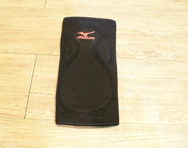 棒球世界 MIZUNO美津濃 運動護膝 特價 黑色