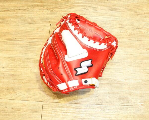 棒球世界 14年新款 SSK牛皮棒球捕手手套 WFF78 特價