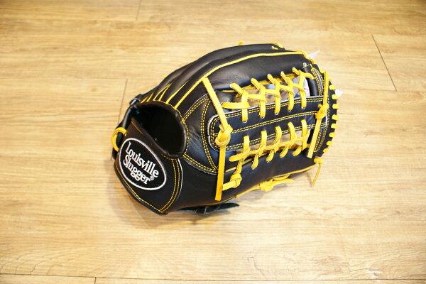 棒球世界 全新Louisvill Slugger 路易斯威爾TPX黑色外野手手套 特價