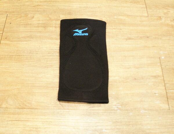 棒球世界 MIZUNO美津濃 運動護膝 特價 黑色藍標