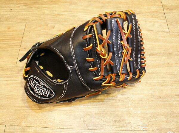 棒球世界全新路易士威爾 Louisville Slugger一壘手棒球手套 特價 黑色
