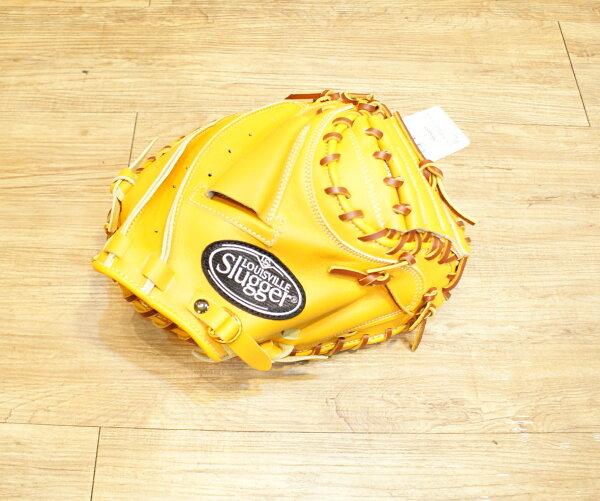 棒球世界全新路易士威爾 Louisville Slugger棒球捕手手套 特價 原皮色
