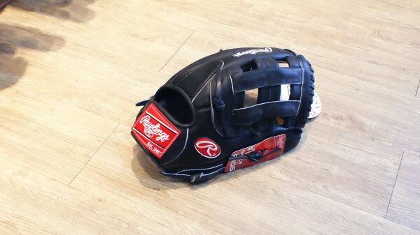 """棒球世界 全新Rawlings GG1301SBB 13"""" 棒壘手套 接球袋很廣"""