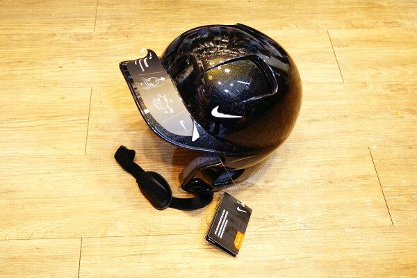 棒球世界 NIKE 最新款 進口 打擊頭盔 (黑色) 新上市 特價