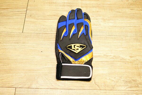 棒球世界 全新15年 TPX X Series LS止滑打擊手套特價 黑金橘配色