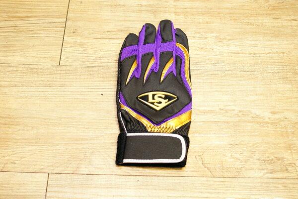 棒球世界 全新15年 TPX X Series LS止滑打擊手套特價 黑金