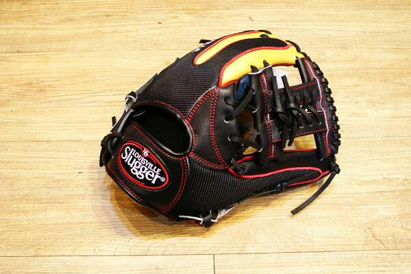 棒球世界 Louisvill Slugger 路易斯威爾TPX LS AIR布織布 內野工字棒壘球手套 特價 黑色