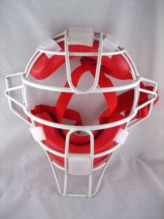 〈棒球世界〉訂製款超輕量化捕手面罩(ssk代工) 新販售 白框系列