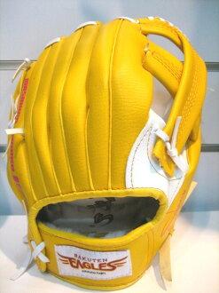〈棒球世界〉 日本樂天金鶯09年新款 合成皮手套