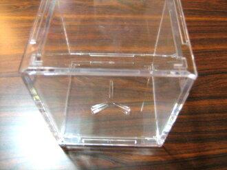棒球世界 台灣製造 透明 壓克力 棒球紀念球盒/////