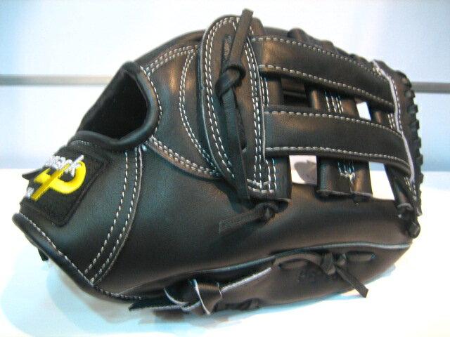 棒球世界 品牌Promark牛革棒壘球手套 內野井字