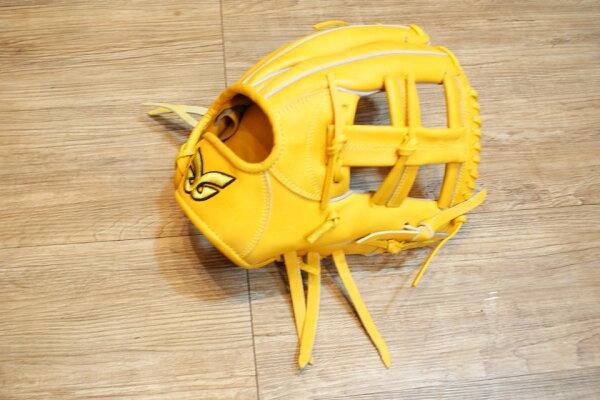 棒球世界 全新日本品牌Glom棒球手套 美國小牛皮 店家訂製款 特價 十字檔 12吋