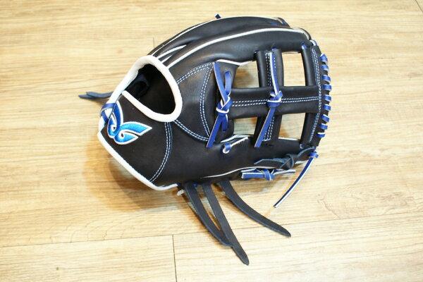棒球世界 全新日本品牌Glom棒球手套 美國小牛皮 店家訂製款 特價 十字檔 12吋 深藍色