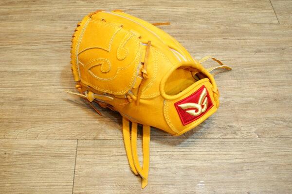 棒球世界 全新日本品牌Glom棒球投手手套 美國小牛皮 店家訂製款 特價 原皮